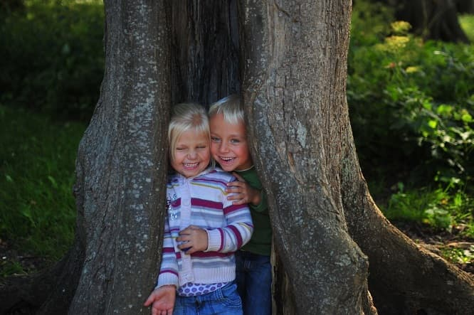 Spending time outside among the Bay Area's trees and other living spaces is healing for children's well-being.