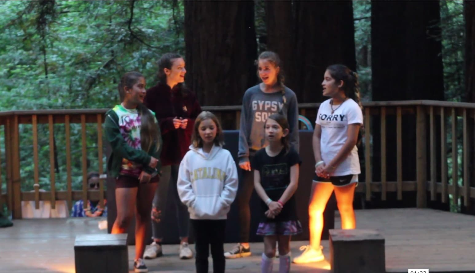 Singing camps in California help campers find their own moments of glee.