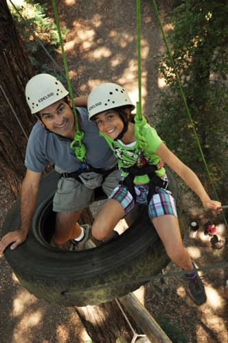 Ropes Course at Kennolyn's Family Camp
