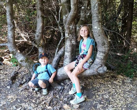 Kids have the capacity to learn a lot from scavenger hunts—even when they're not at camp!