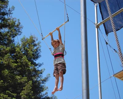Kennolyn's Day Camp trapeze