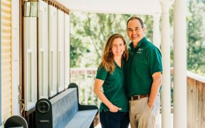 Lindsey Caldwell Johnson and Dan Johnson